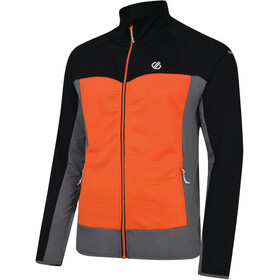 Dare 2b Riform Veste Homme, black/clementine orange/aluminium grey
